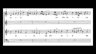 Johannes Ockeghem - Missa Prolationum - Kyrie