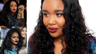 Rihanna inspired makeup tutorial - Maquiagem para pele negra inspirada na Rihanna