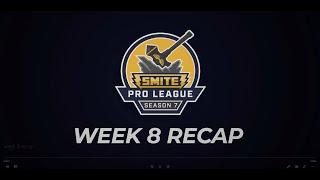 SPL Weekly Recap: Phase 1 Week 8