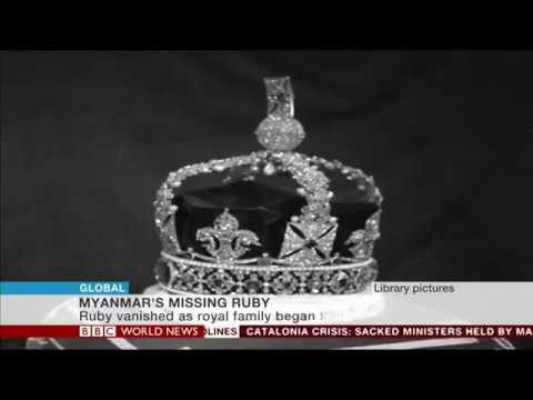 Grammar Productions for BBC News - Who stole Burma's Royal Ruby