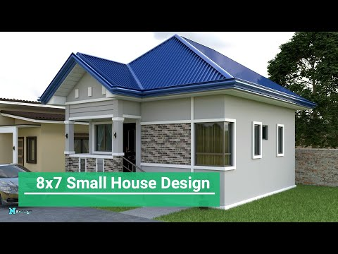 small-house-design-(8x7-meter)