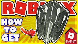 How to Get the Wakandan Shield - Roblox Free Item - Captain America Infinity War Promotion Item