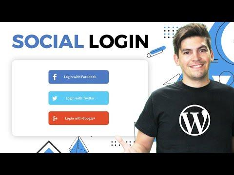 WordPress plugin twitter facebook google