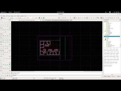 Librecad for Architectural project-1 hatches, video-6