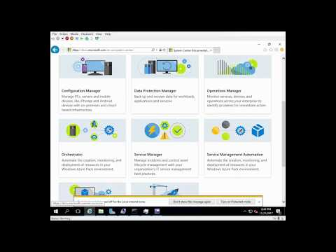 Installing System Center Virtual Machine Manager 1711 Release Preview VHD