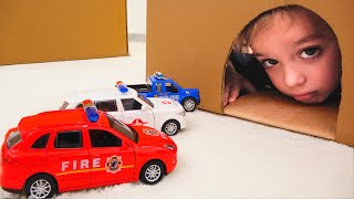 Vlad and Niki play with toy cars - Collection car videos for kids