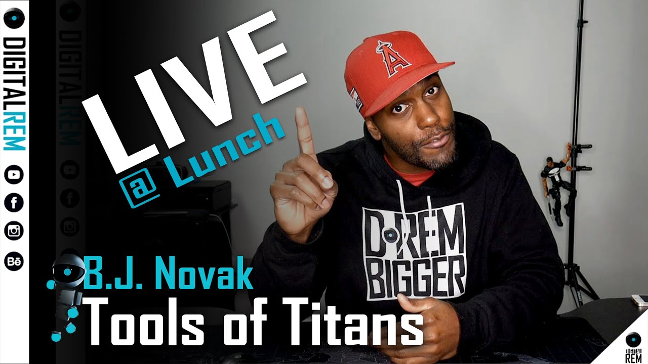 Live at Lunch | Tools of Titans | BJ Novack