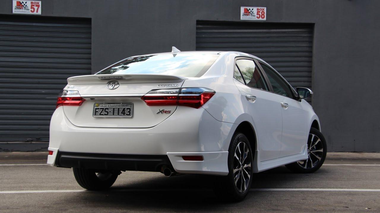 Impress 245 Es Toyota Corolla Xrs 2018 Detalhes Pov Pista