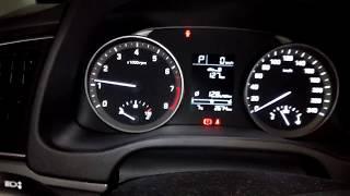 Hyundai Elantra 2018 | Работа холодного двигателя