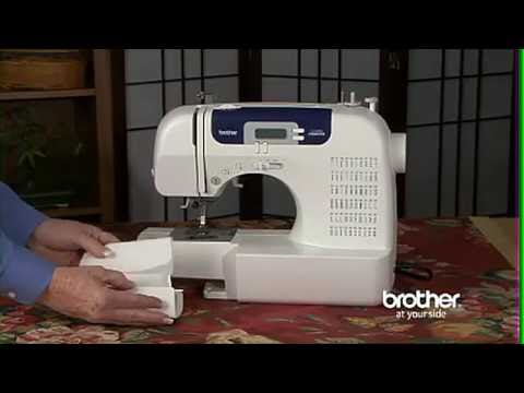 Brother CS40i Review YouTube Magnificent Sewing Machine Brother Cs6000i
