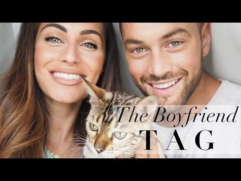 THE BOYFRIEND TAG | with Ali Gordon| Lydia Elise Millen