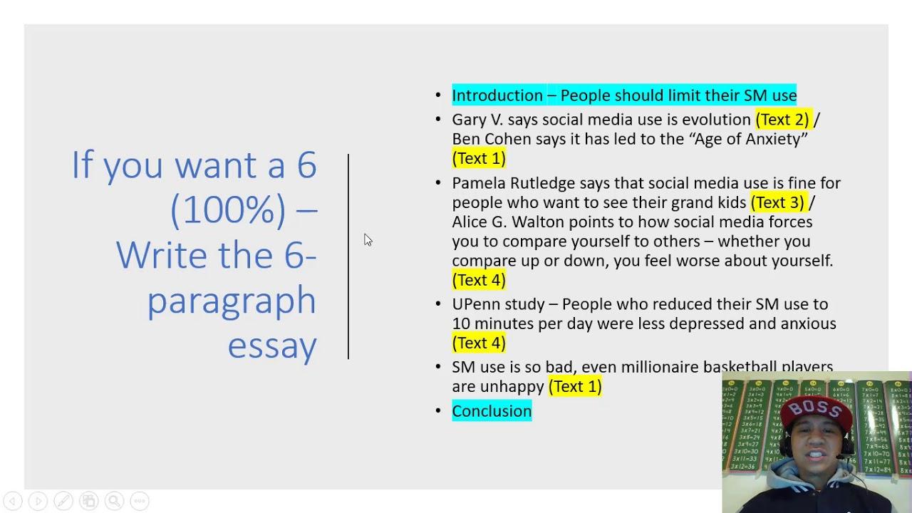4 types of essay organization