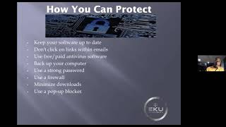 Tech Foundations: Protecting Your Home & Business Presented By: Eku Williams