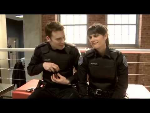 Missy Peregrym & Peter Mooney S3 BTS