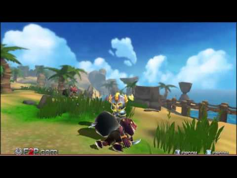 Heroes of Rune Alpha Gameplay Trailer - Browser MOBA