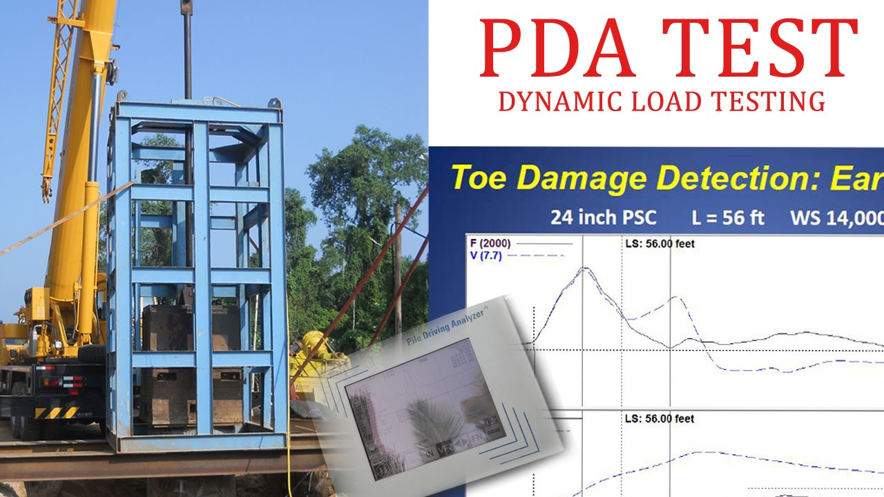 Dynamic Load Testing : Pda test dynamic load testing youtube