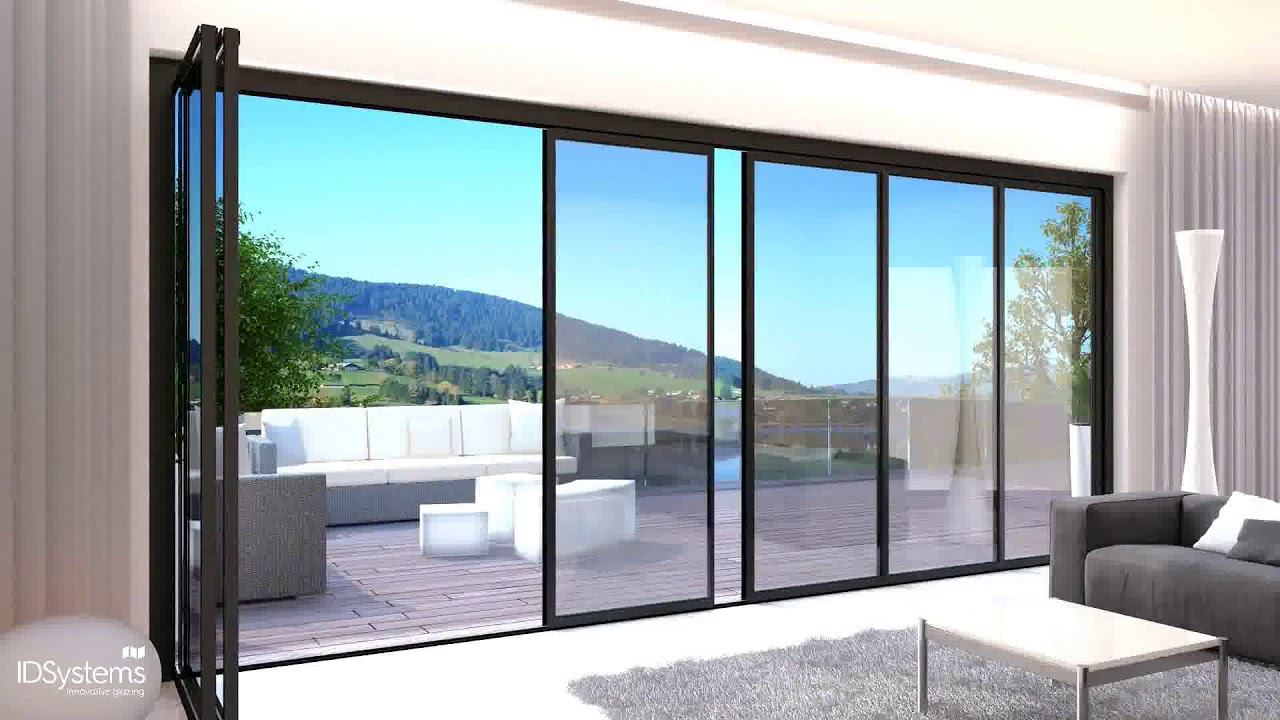 vistaline the slide turn door solution exclusively from idsystems