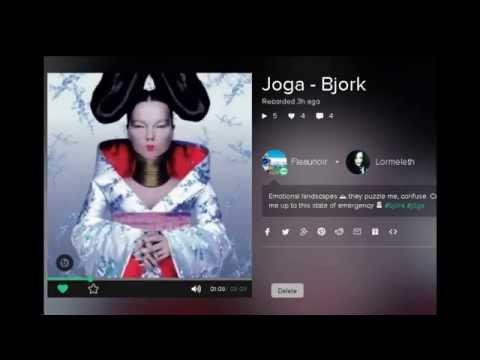 Joga - Bjork karaoke duet by K'rito on Smule app
