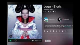 Joga - Bjork karaoke duet by K