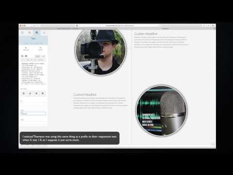 X WordPress Theme QuickTip: Using Responsive Text