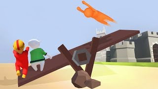 WE MADE HIM FLY! (Human Fall Flat)