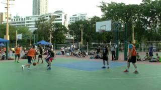 開心三人籃球賽旭輝VS BayKings 日期: 2014-11-02 地點: 九龍旺角花墟球場.