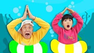 상어가 나타났다!! Baby Shark Dance   Sing and Dance!   Animal Songs   PINKFONG Songs for Children for kids