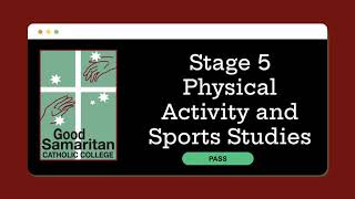 Physical Activity and Sports Studies