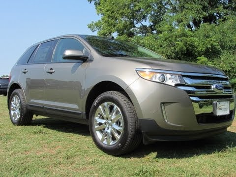 Sold  Ford Edge Sel Fwd New A Mineral Grey Ford Of Murfreesboro