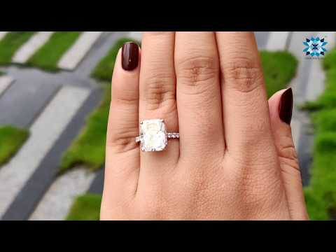 5.59-tcw-radiant-cut-moissanite-ring-|-under-halo-ring-design-|-white-gold-ring-|-radiant-jewellery
