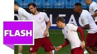 Madrid vs München: Hummels und Boateng im Training! Ancelotti hofft, dass beide spielen