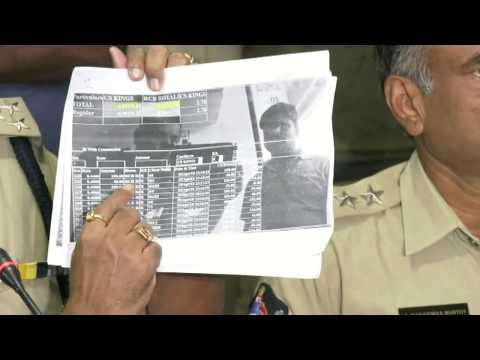 IPL betting racket online commentary & operation chart police official demo for media