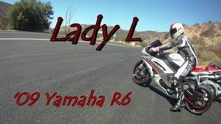 Girl on R1 - My R6 Lane Splitting Crash V-log (No Crash Footy Here)
