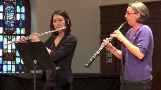 The Divisa Ensemble: Duet for Flute & Oboe Lamentabile IV (Wilhelm F. Bach)