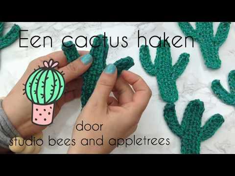 Ongebruikt Een cactus haken! Stap voor stap... - YouTube UJ-02