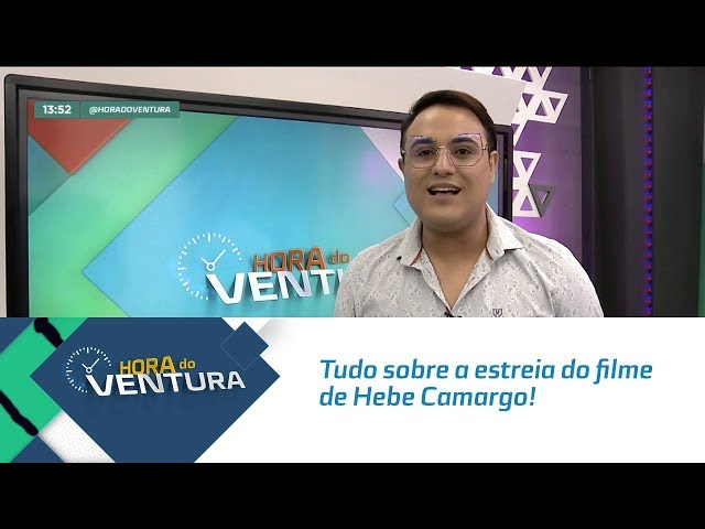 Tudo sobre a estreia do filme de Hebe Camargo! - Bloco 01