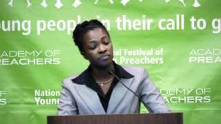 Jessica James, AoP '12 (2012 National Festival of Young Preachers)