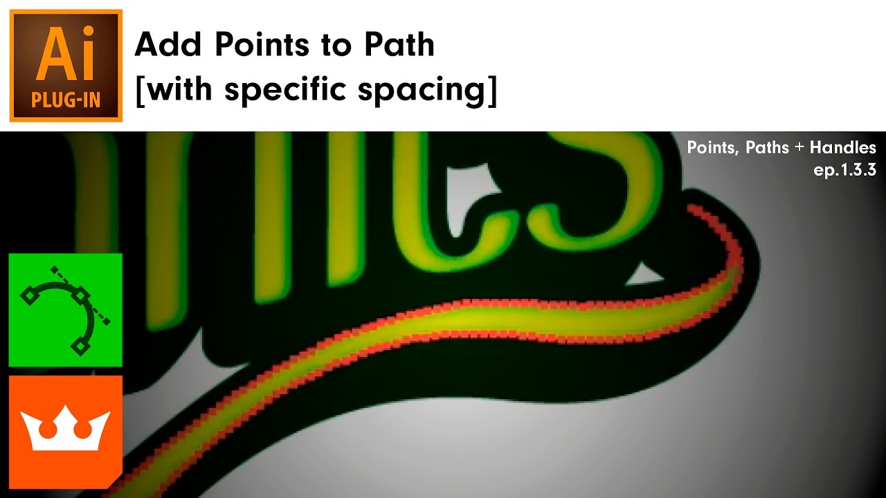 Add Points to Path [with specific spacing] in Illustrator | VectorScribe