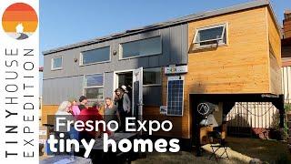 Intriguing Tiny Homes & Initiatives at Fresno Tiny House Expo
