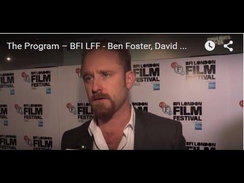 The Program – BFI LFF - Ben Foster, David Walsh, Denis Ménochet, David Millar interview
