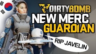 Guardian New Merc Announcement: My initial Thoughts | DirtyBomb Gameplay