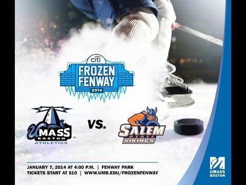 UMass Boston Men's Hockey Frozen Fenway Promo Video
