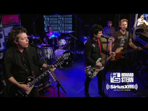 "Green Day ""Welcome to Paradise"" Live on the Howard Stern Show"