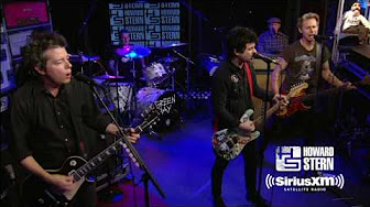 green day on the howard stern show 10 5 16 youtube. Black Bedroom Furniture Sets. Home Design Ideas