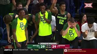 Baylor vs Arizona Men's Basketball Highlights