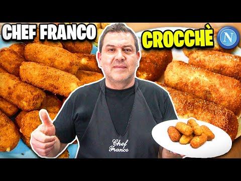 👨🍳IN CUCINA CON CHEF FRANCO: PANZAROTTI NAPOLETANI!! (Crocchè di patate) - ShaleBoom