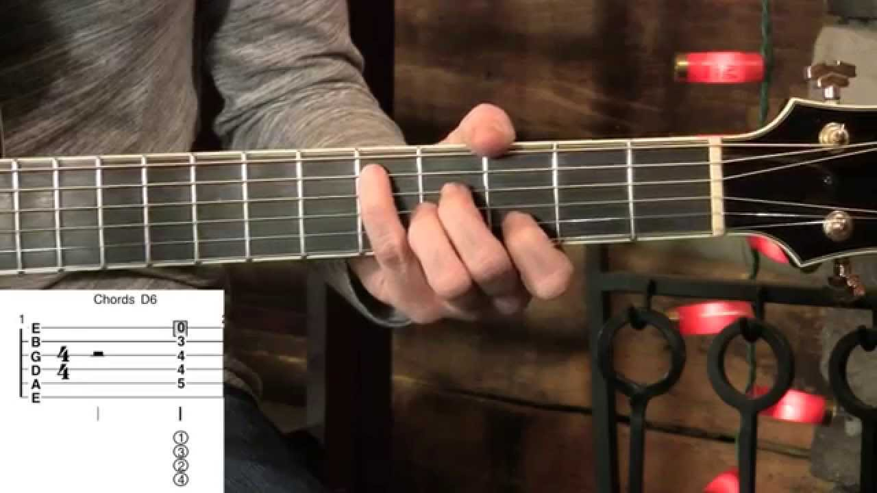 Swing Guitar Chord Lesson 6th 7th Diminished Minor Youtube