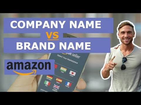 Company Name VS Brand Name - Explained