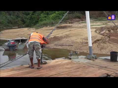 Guyana - Kurukupari river crossing