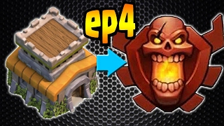 Clash of Clans: TH8 TROPHY PUSH to Champion League!! ep4 - Master League! 2800!